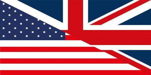 British / American Flag - International Relationship